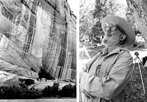 Canyon de Chelley and Ansel Adams